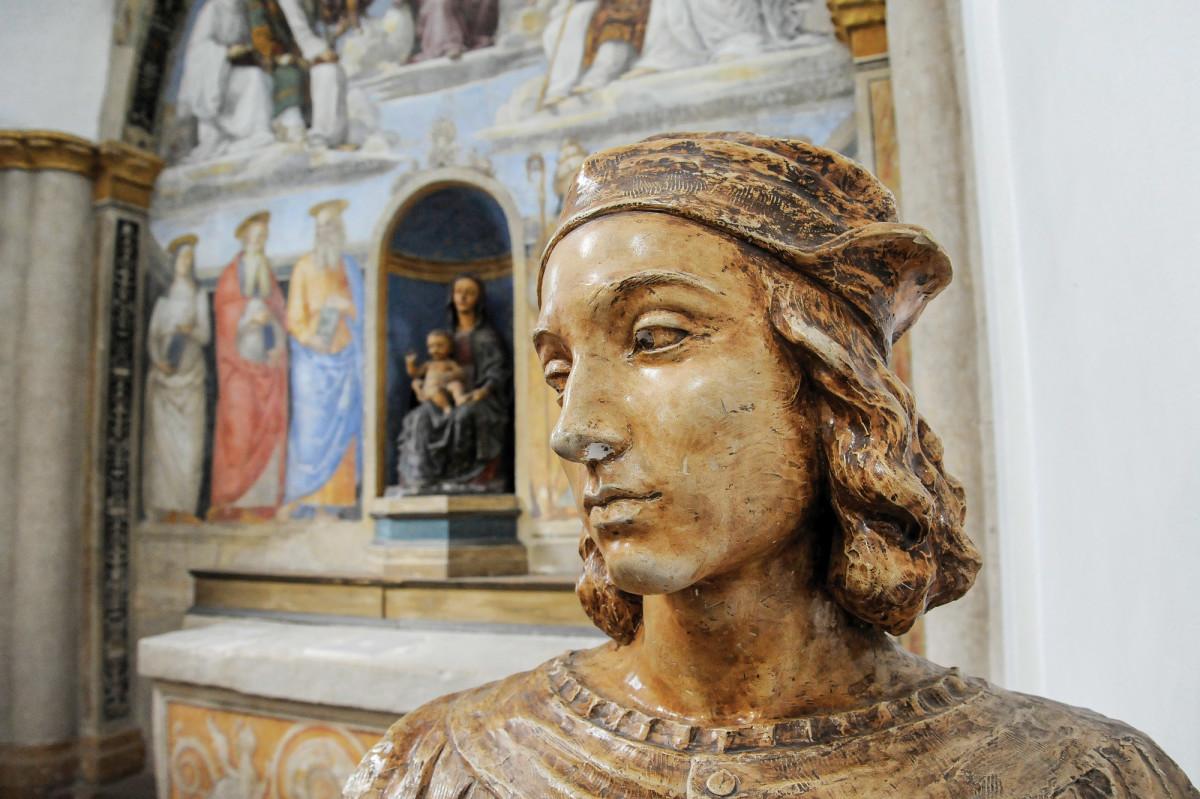 Bust of Raffaello Sanzio, known as Raphael