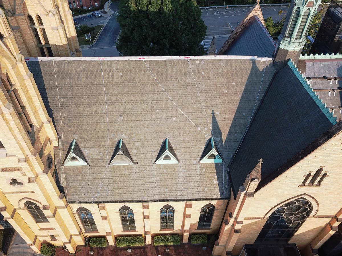 church roof repair