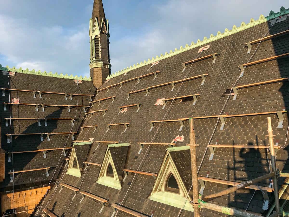 spire restoration