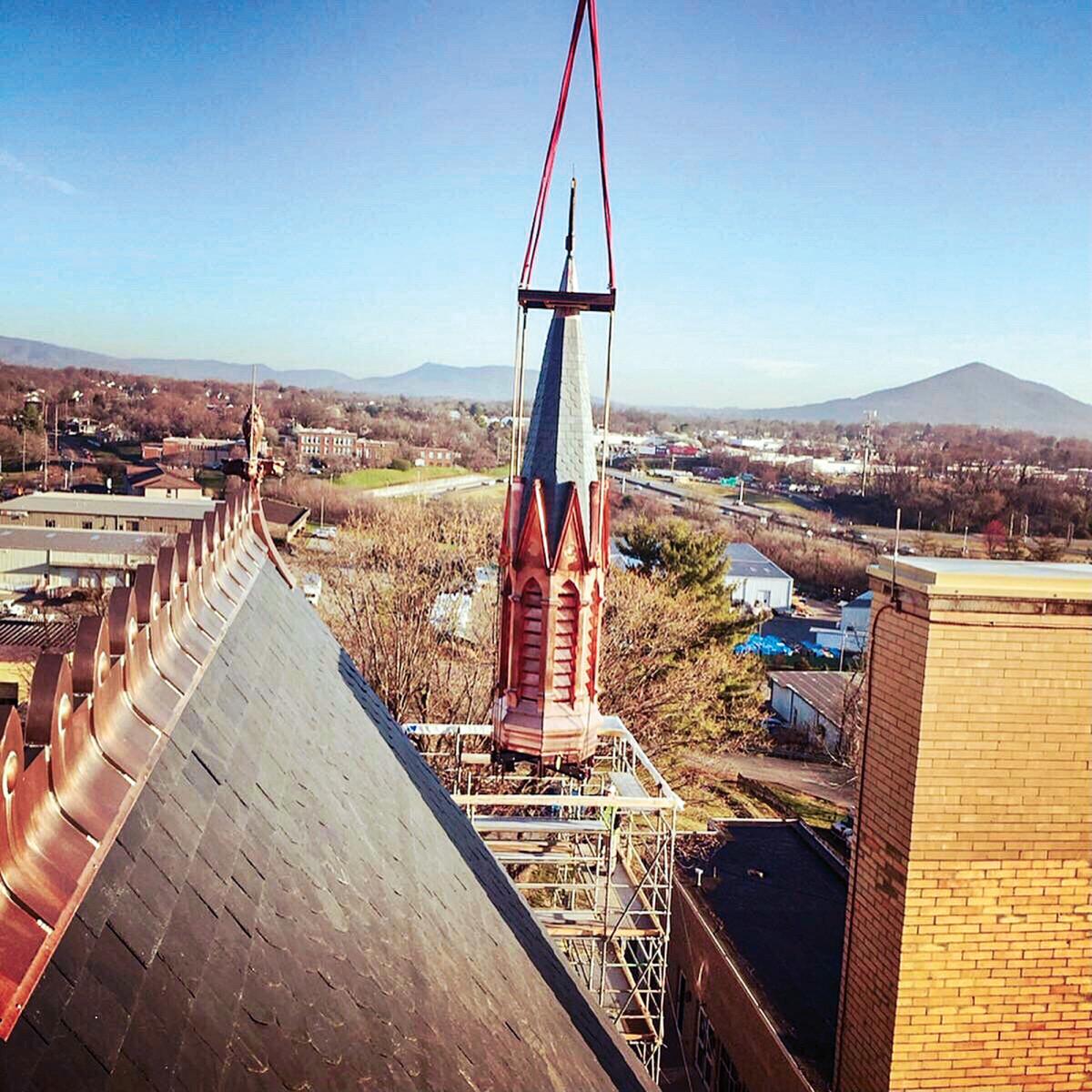 steeple spire replication