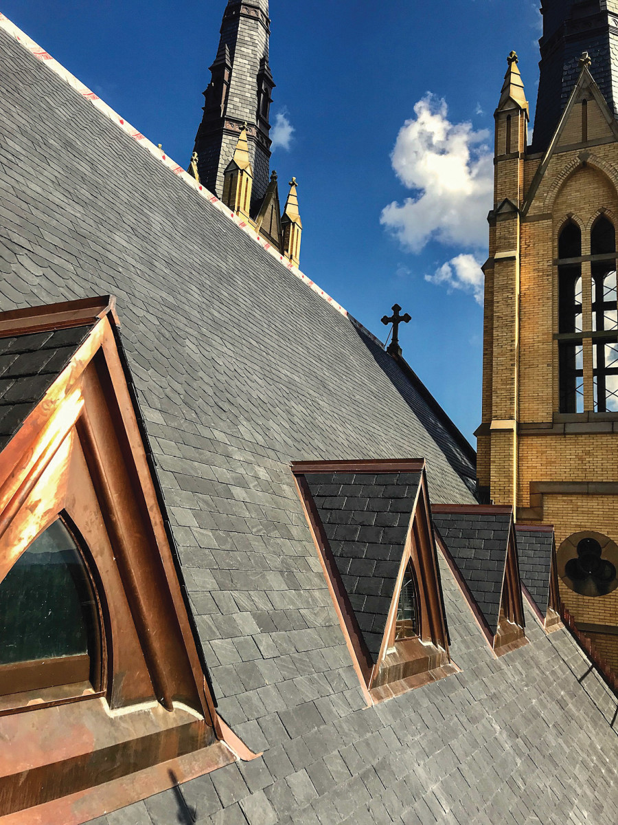 roof and spire repair