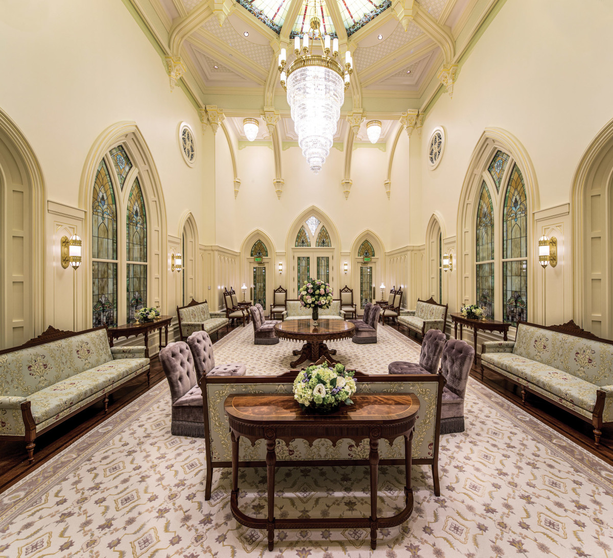 Gothic Revival dining room