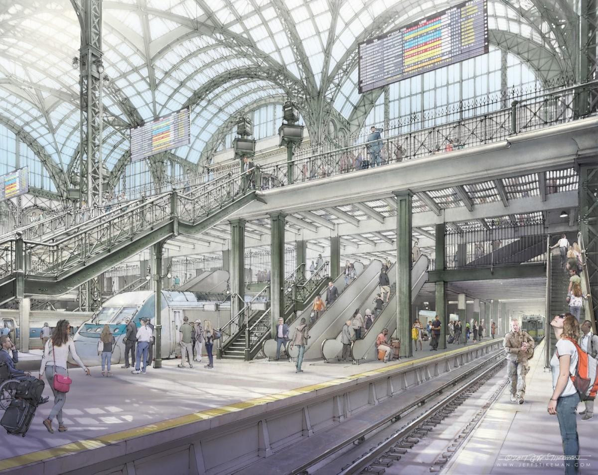 Rendering Penn Station