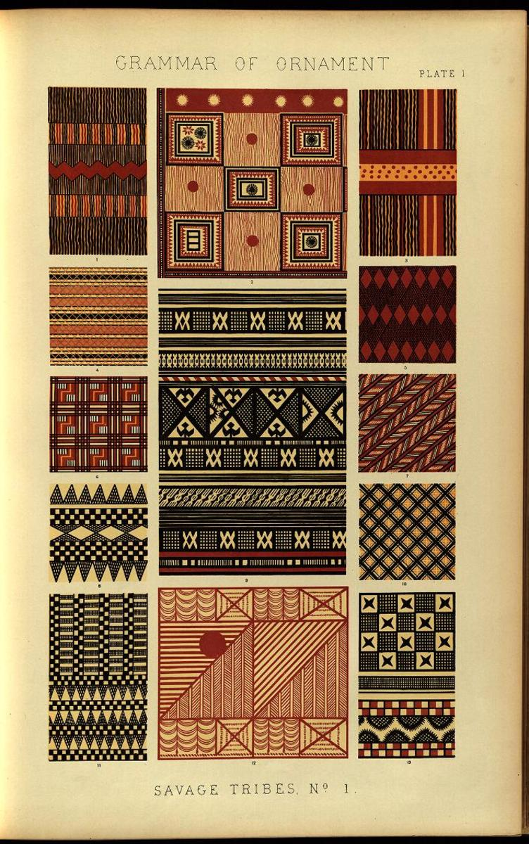 The Grammar of Ornament, 1856.