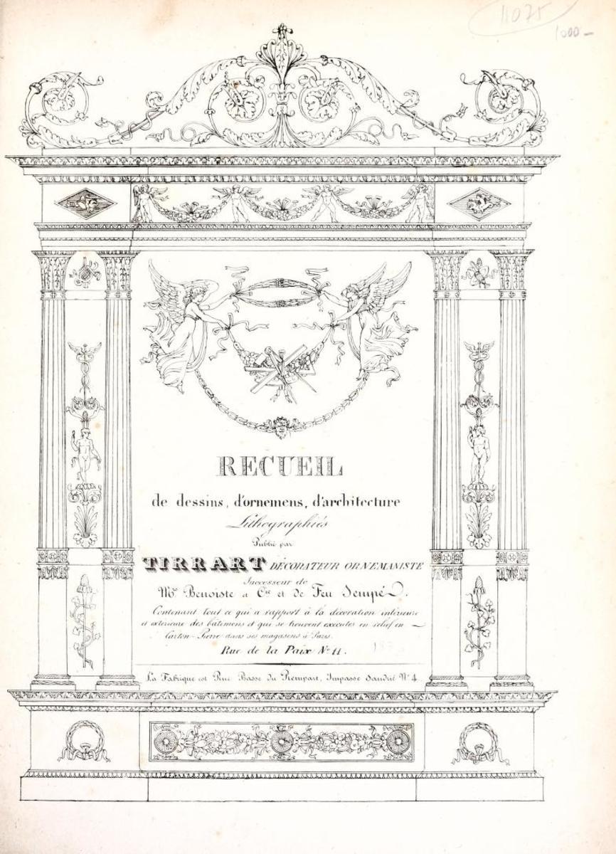 Recueil de Dessins, 1830