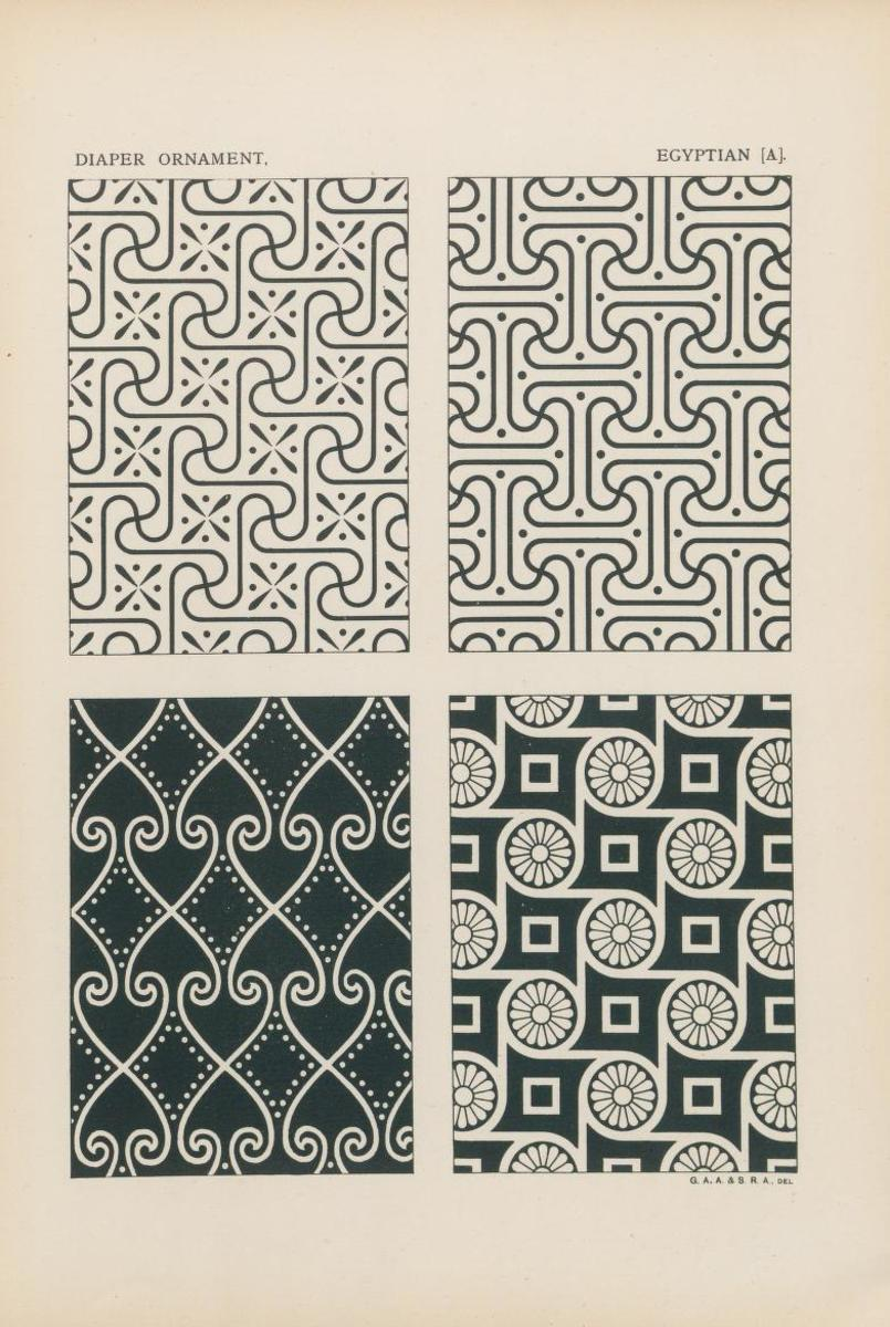 Outlines of ornament, 1881