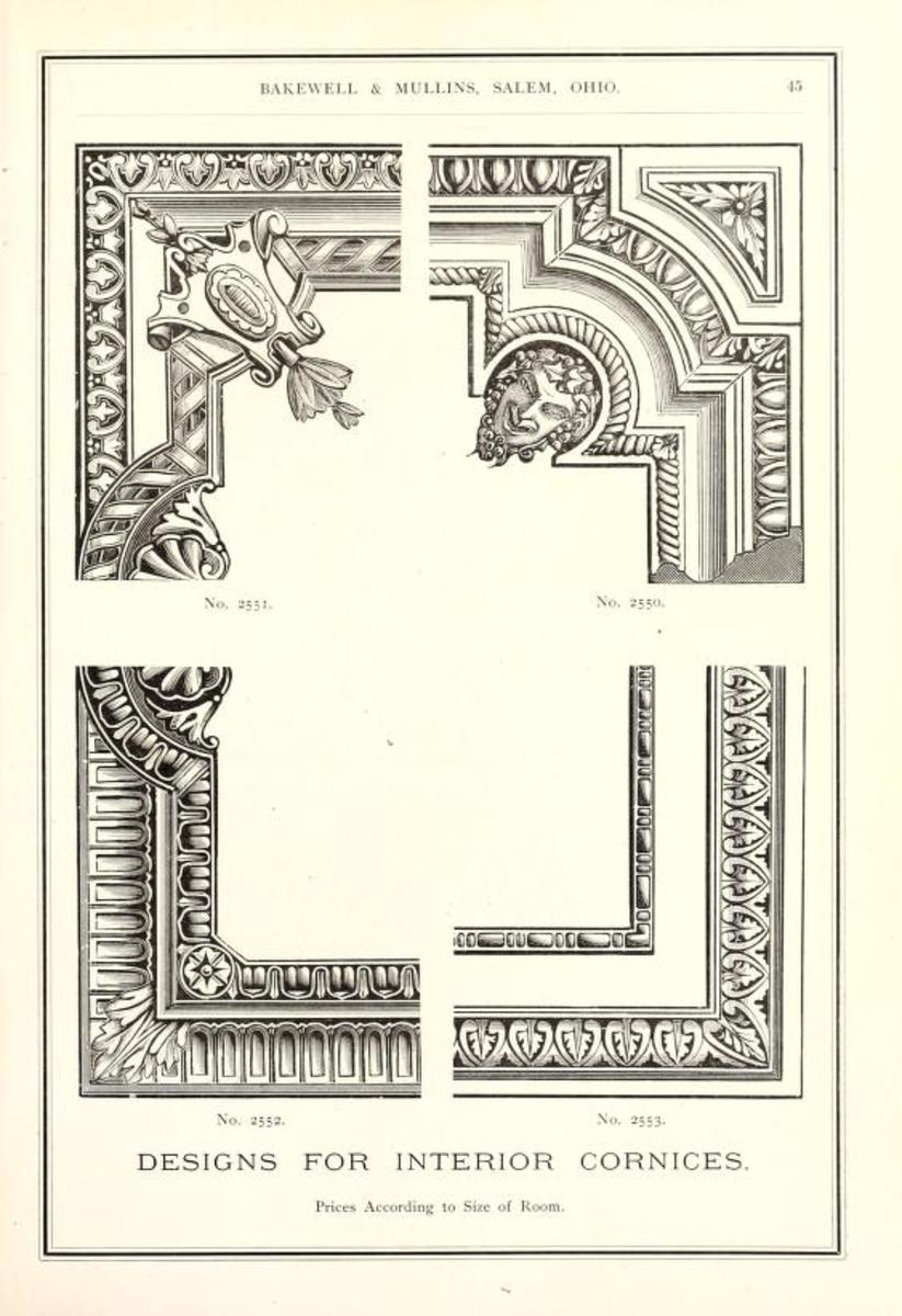 Designs of Architectural Ornaments, 1887.