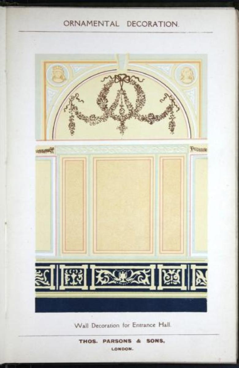 ornamental decoration, 1908