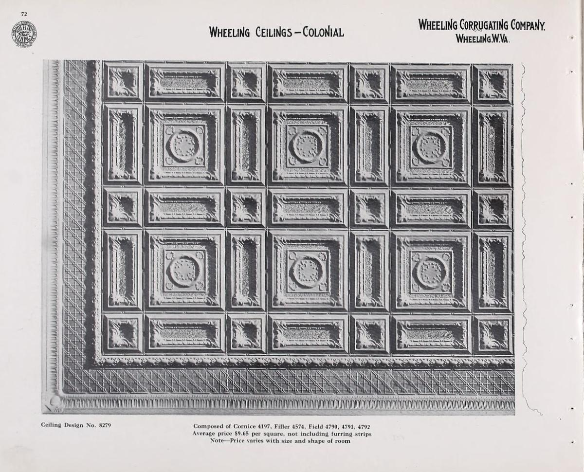 Wheeling ceilings, 1911