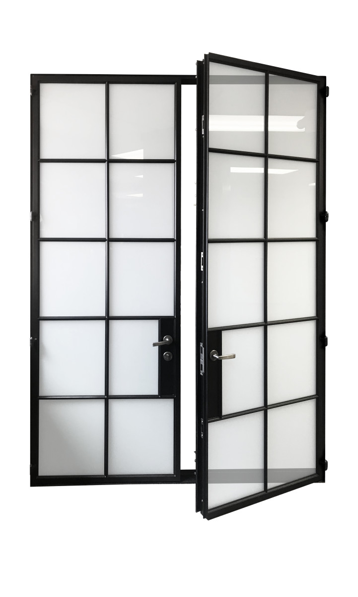 One55 Series Double Door 1 open right