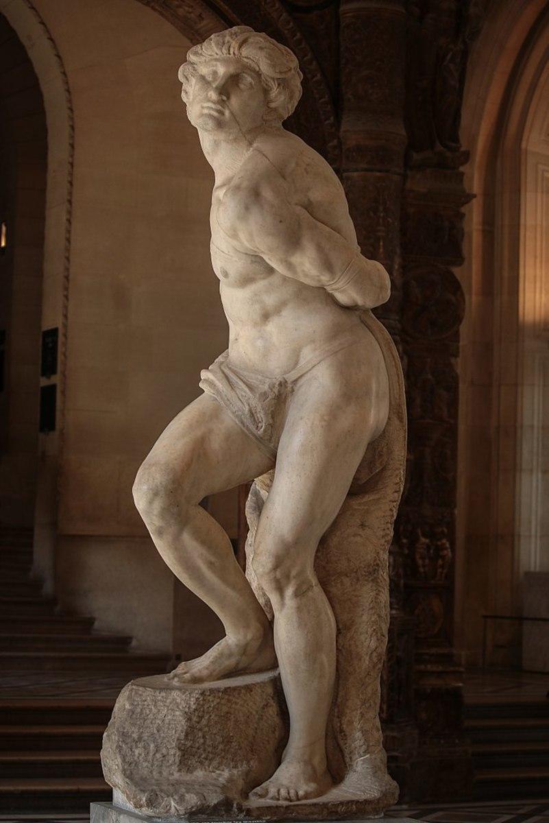 Michelangelo's Rebellious Slave