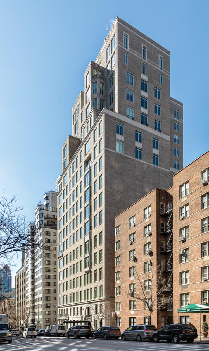 Setback terraces, 20 East End NYC, RAMSA