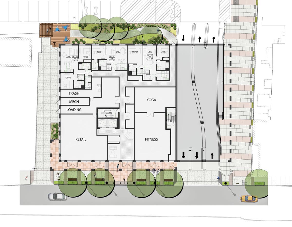 Metropolitan Lofts floor plan