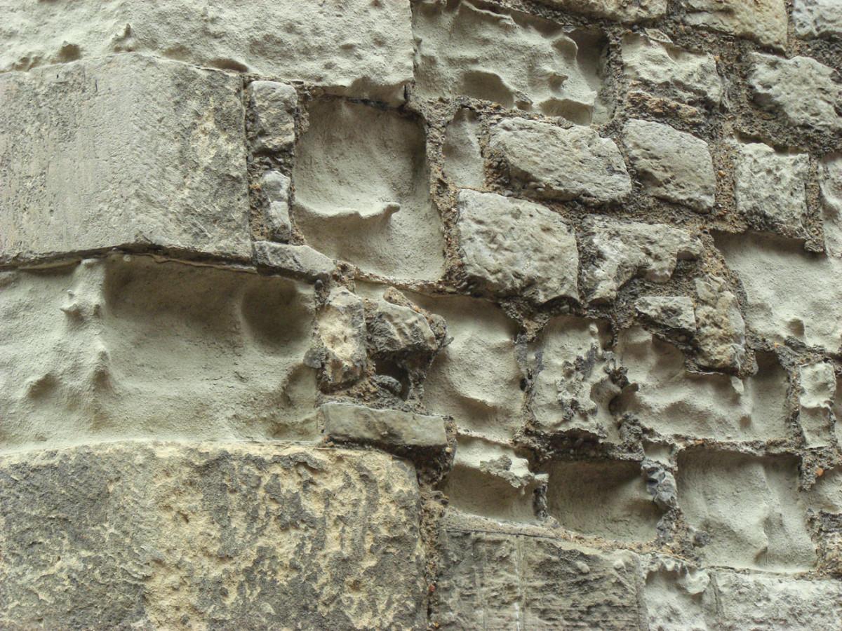 Deteriorated stone