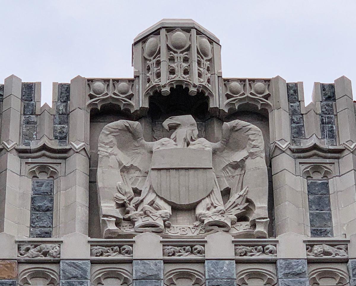 West Point's Taylor Hall, Sun Precast, cast stone
