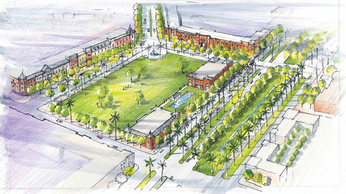 Southside Legacy project's mission, David M. Schwarz Architects