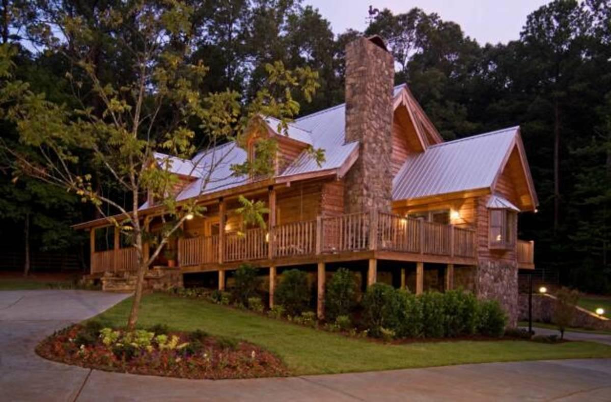 Suwannee River Log Homes