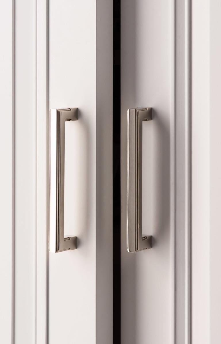 P.E. Guerin produces Art Deco pieces that lend a more contemporary look to a design.