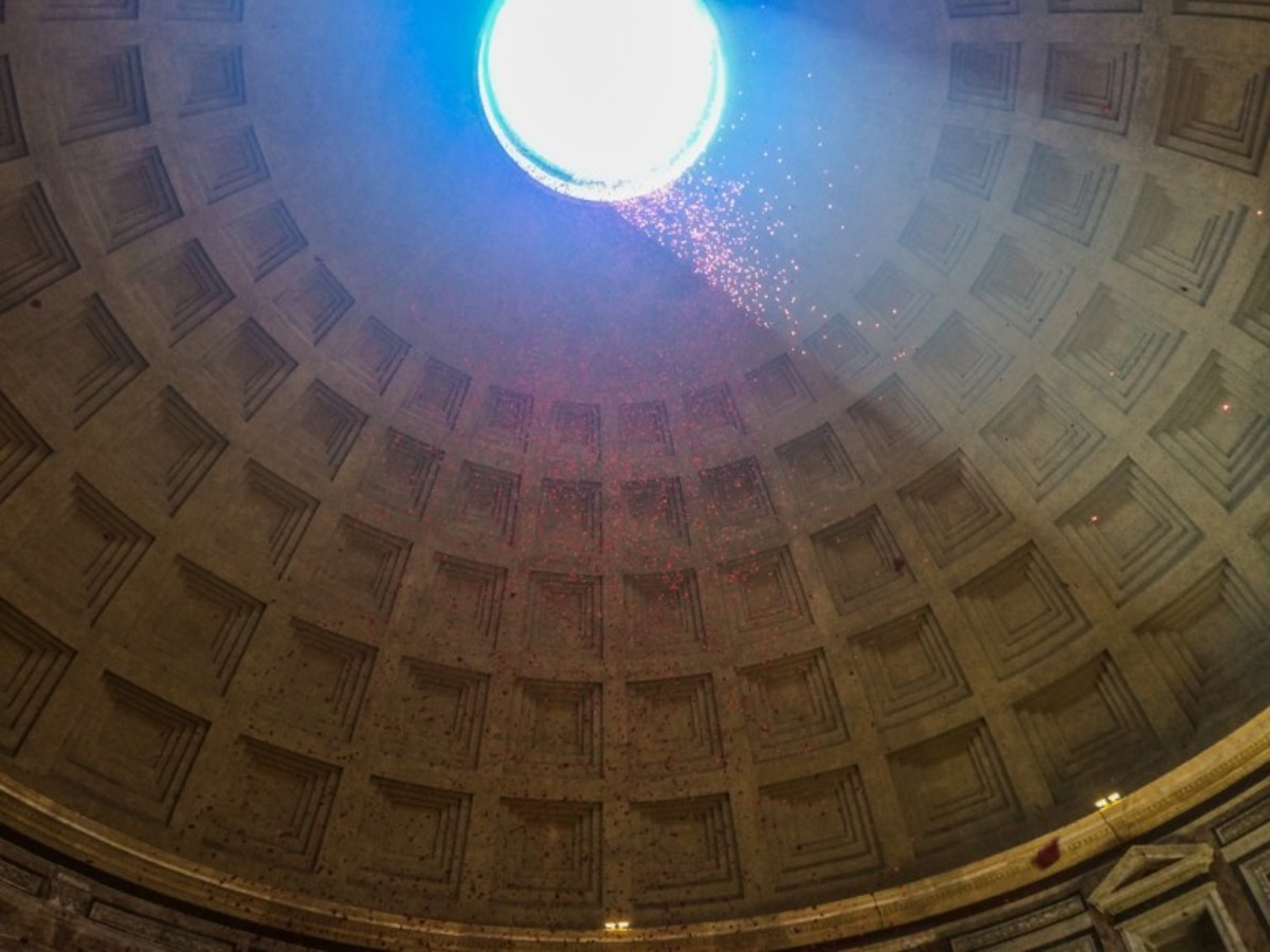 Pantheon at Pentacost