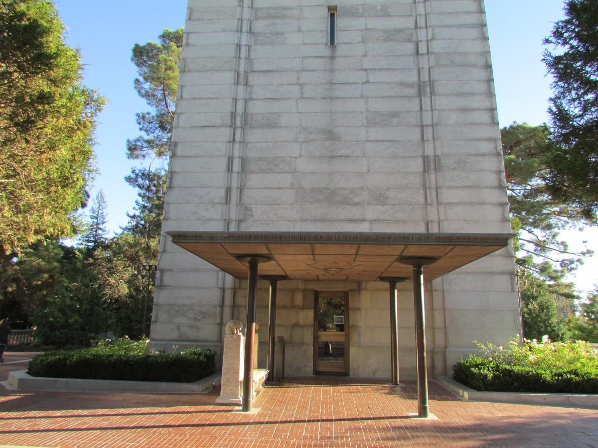 Porch, Campanile, University of California, Berkeley, 1960.