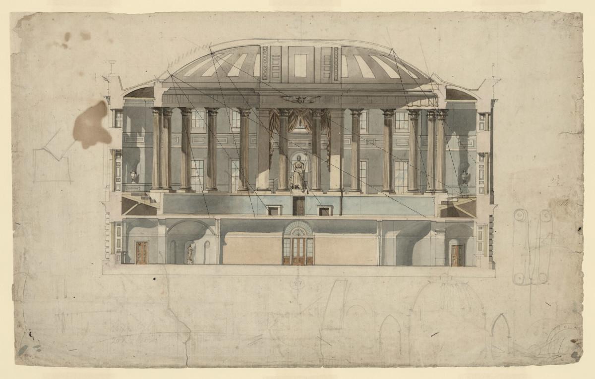 Rendering Thomas Jefferson Memorial