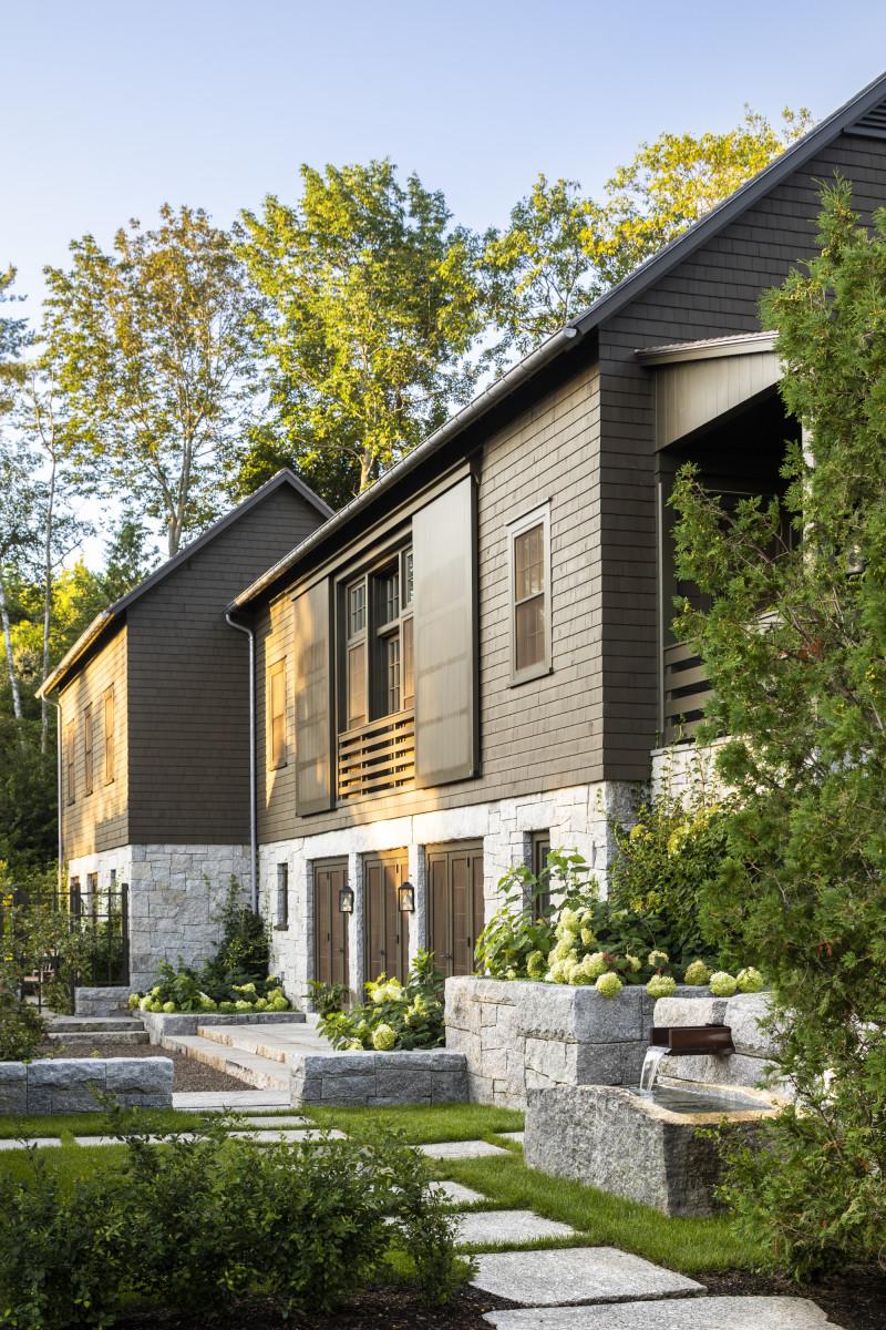 Summer Cottage in Coastal Maine, 2020 Palladio Award Winner