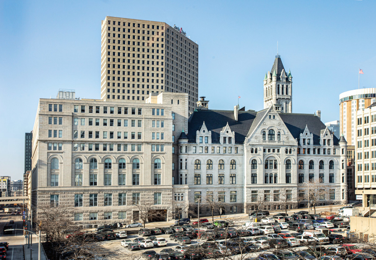 historic Milwaukee Federal Building and U.S. Courthouse
