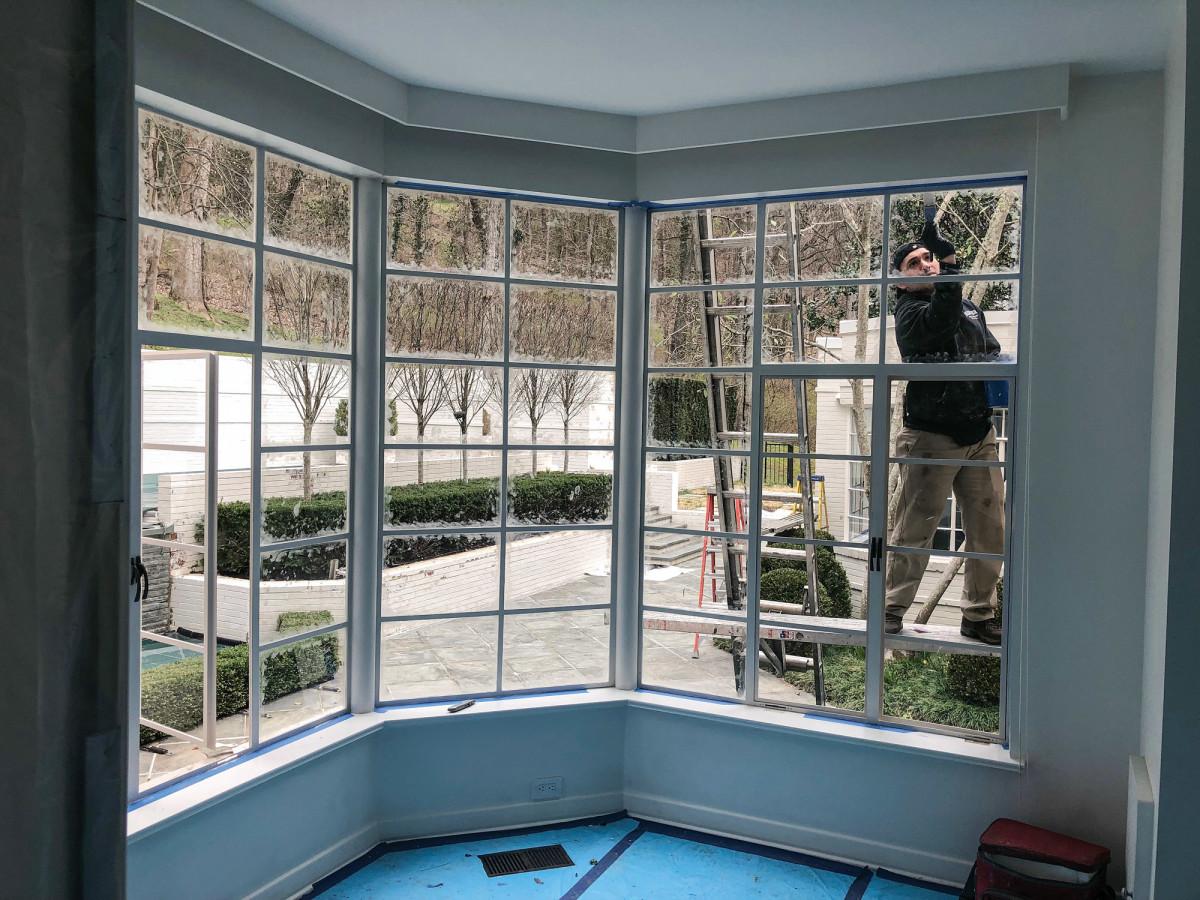 Seekircher installs steel windows