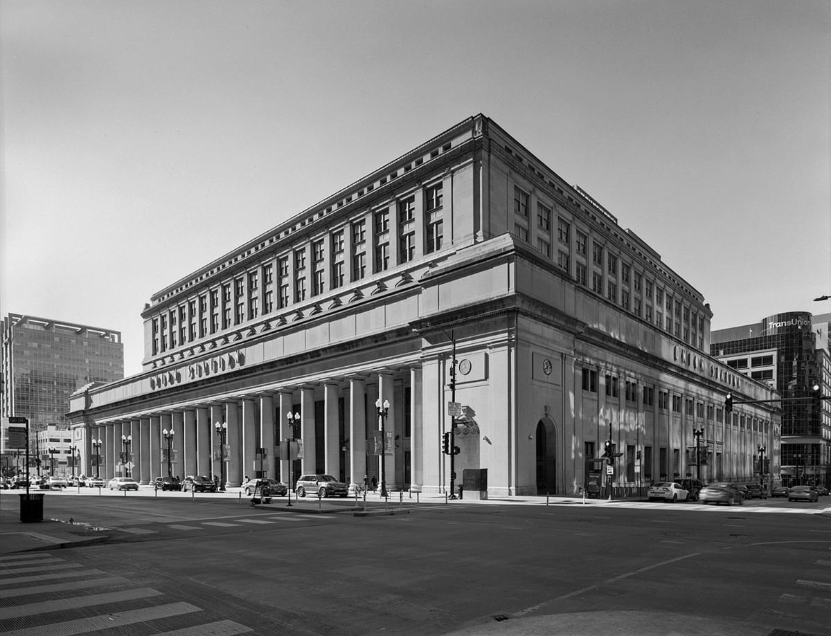 Historical photo of Union  Station