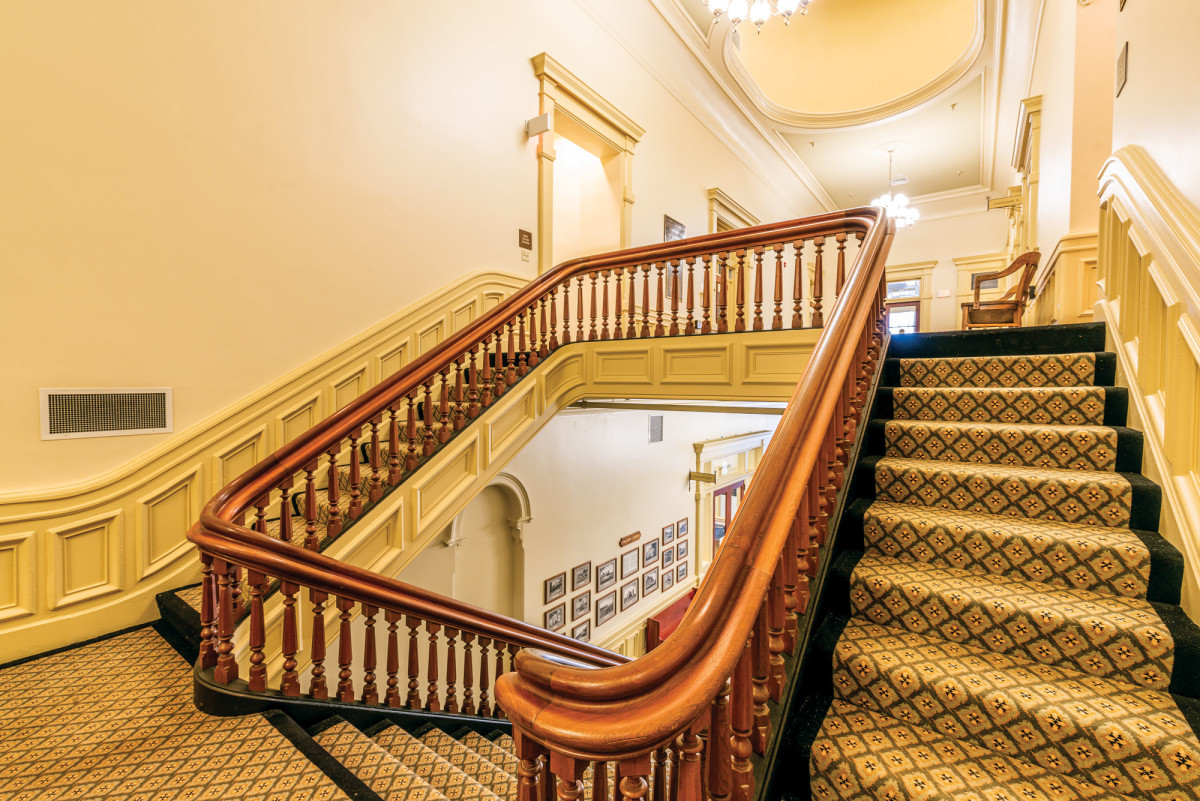 courthouse staircase