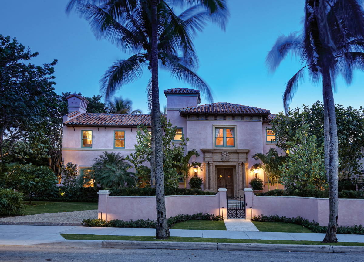 Pink Spanish Colonial