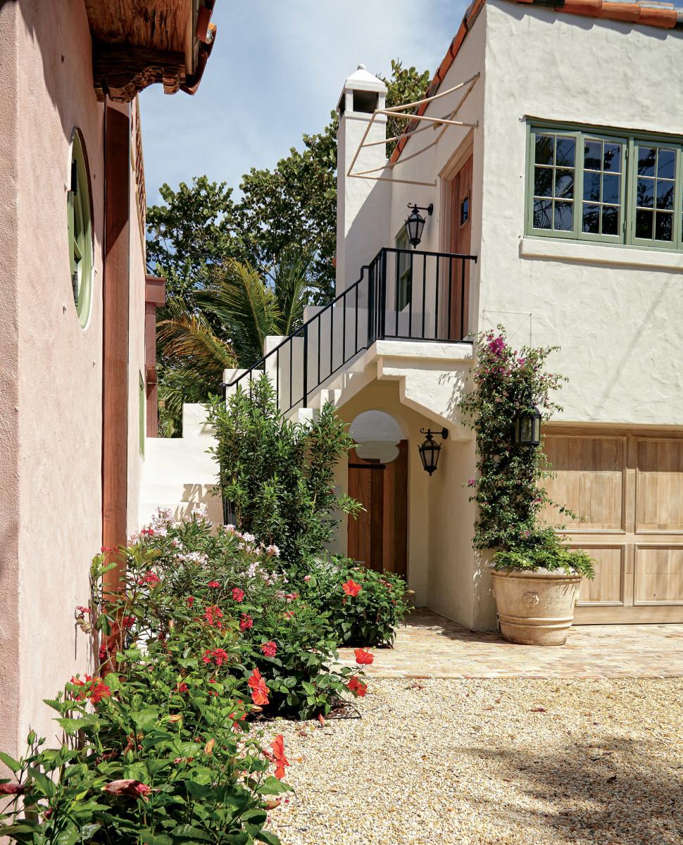 Spanish Colonial garden