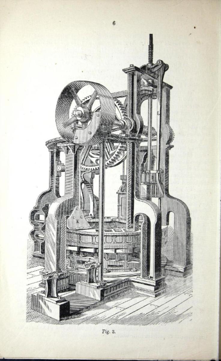 """Gregg's """"Impact"""" Brick Machine, 1876"""