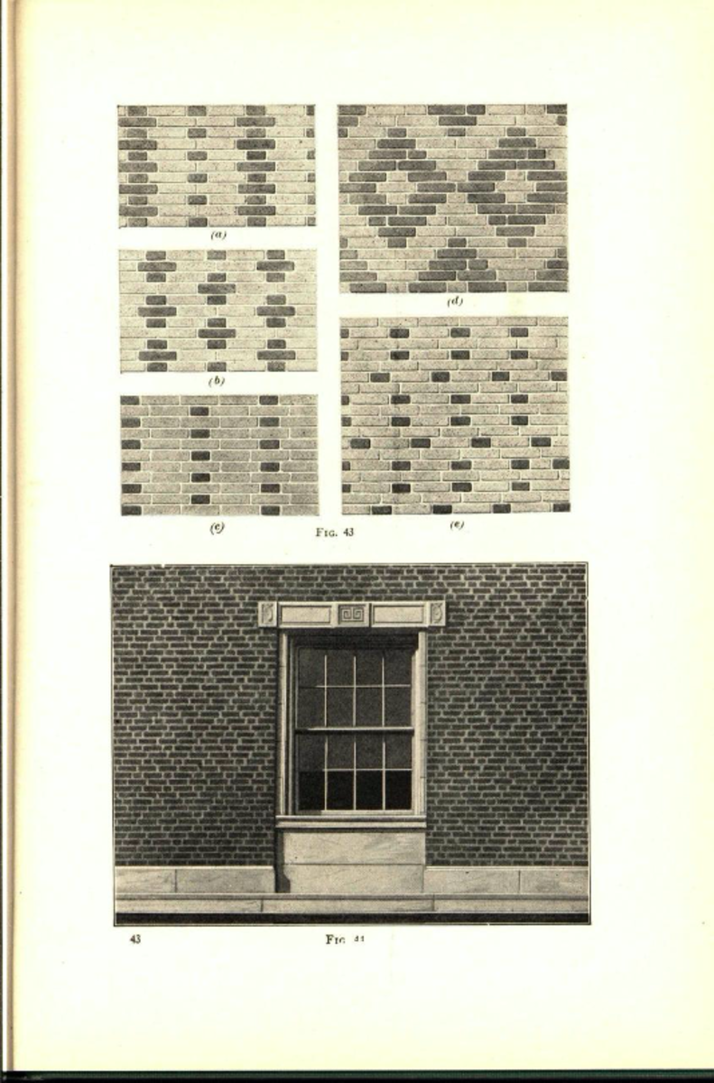 Plain and Fancy Brickwork, 1929