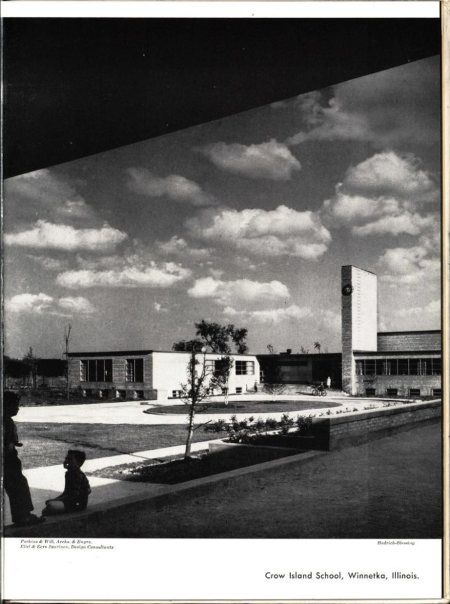 Brick and Tile as Utilized in in Modern American Architecture. 1947