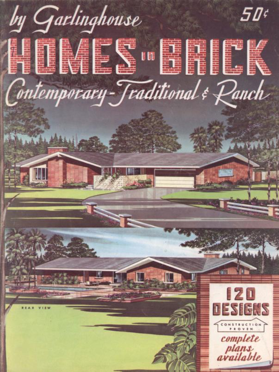 Homes in Brick, 1960s