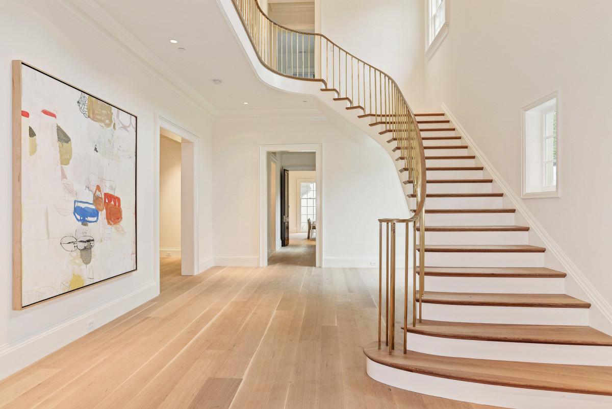 Jones & Boer Architects, Chain Bridge Road spiral staircase