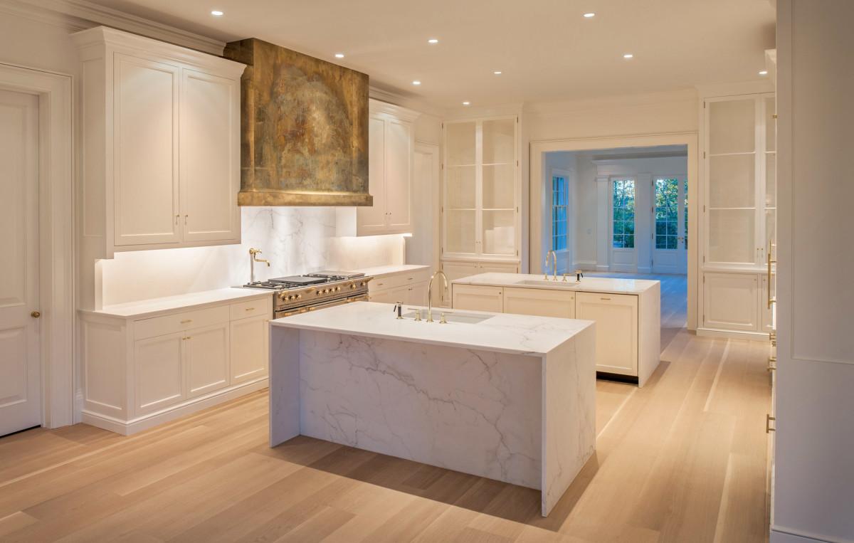 Jones & Boer Architects, Chain Bridge Road kitchen