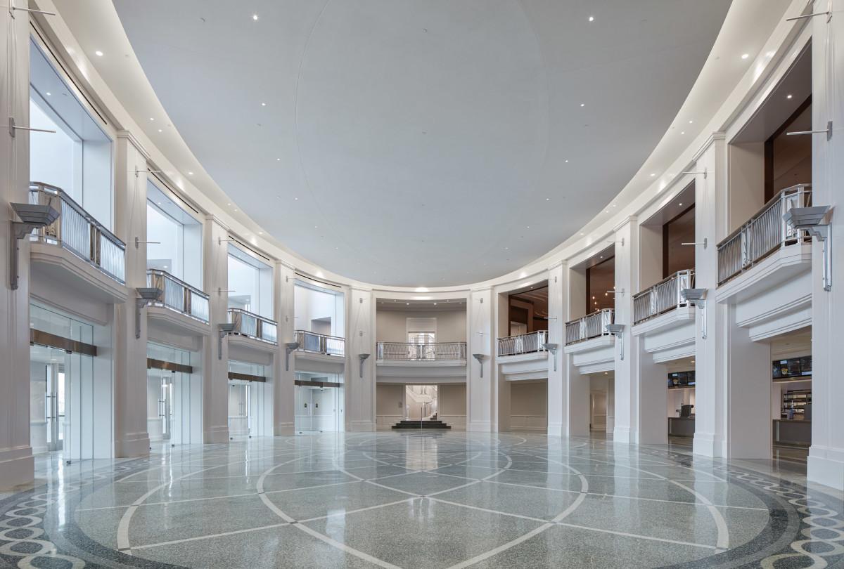 David M. Schwarz Architects Inc., Dickies Arena lobby
