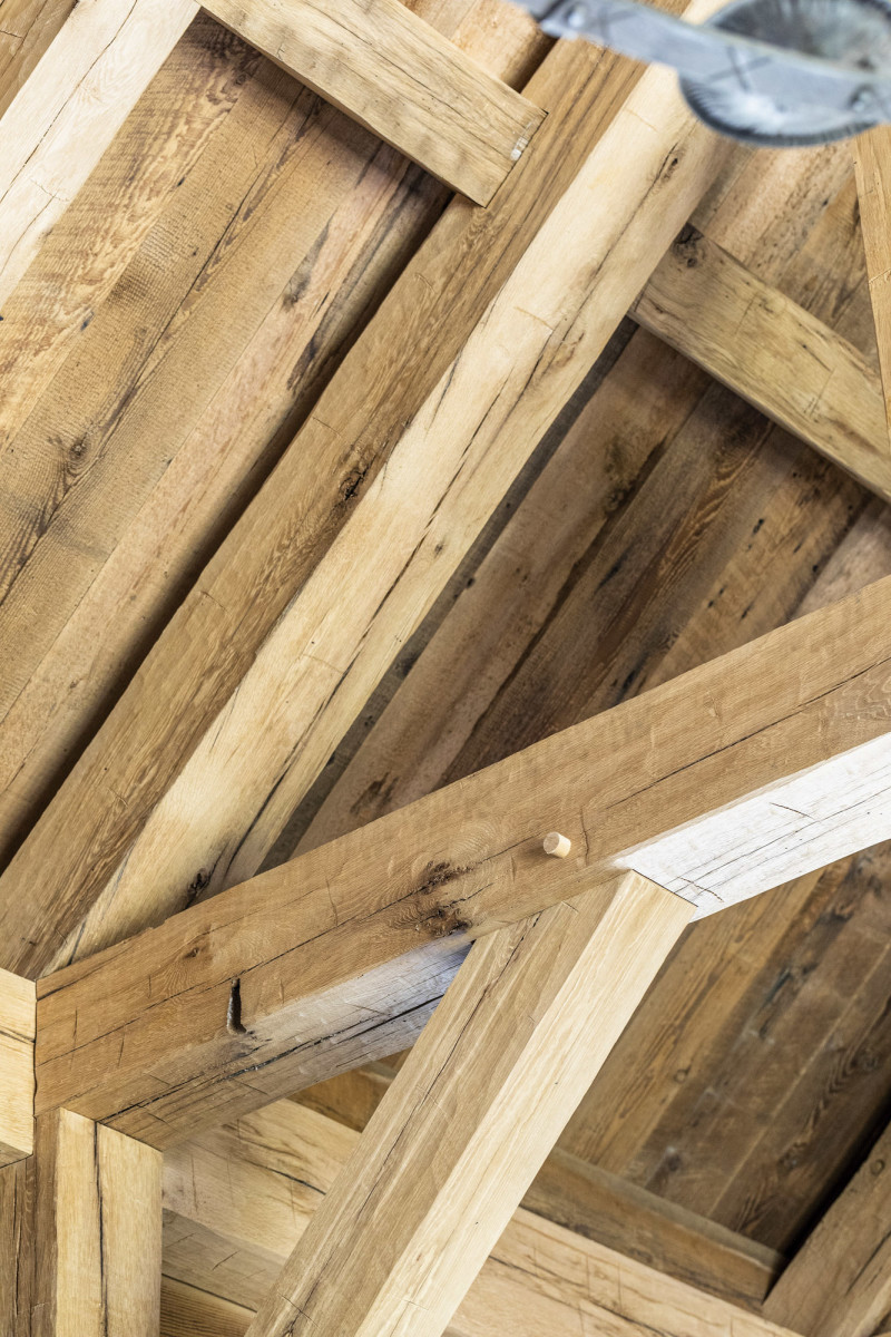 Post and Beam, timber framing, G. P. Schafer Architect