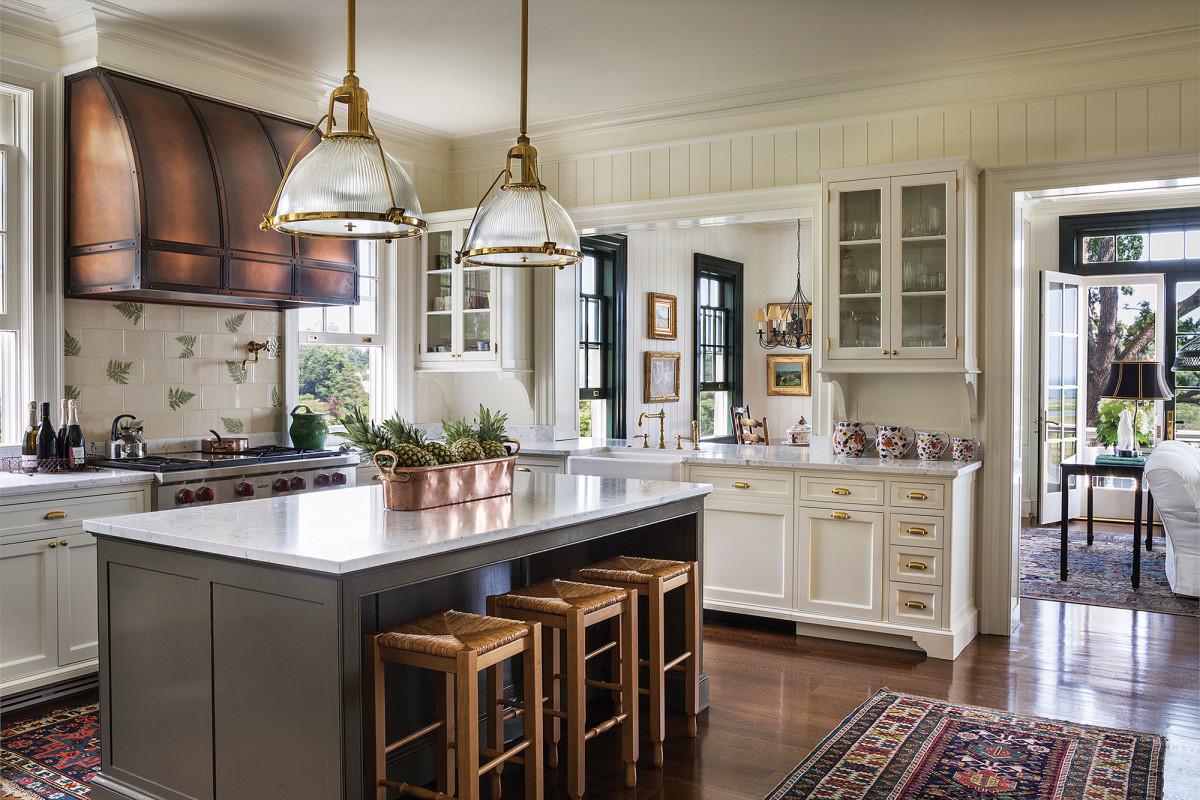 traditional kitchen, Fairfax & Sammons