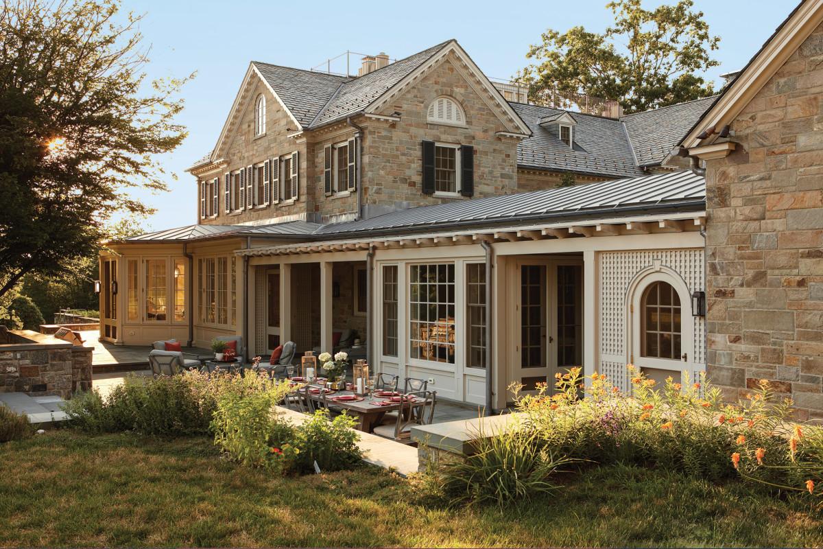 Historic Estate exterior Ferguson & Shamamian Architects