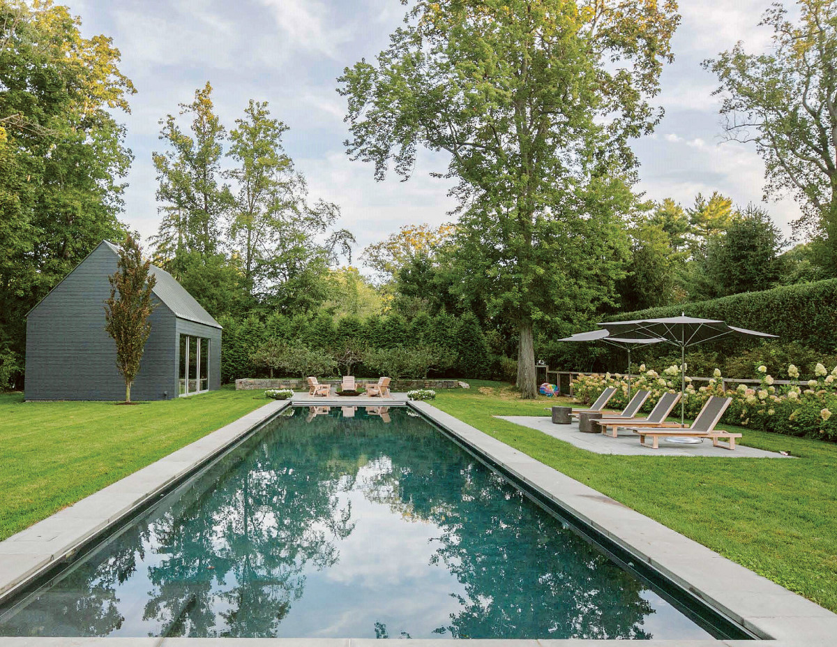 backyard pool, Janice Parker Landscape Architects, 2020 Palladio Award winner