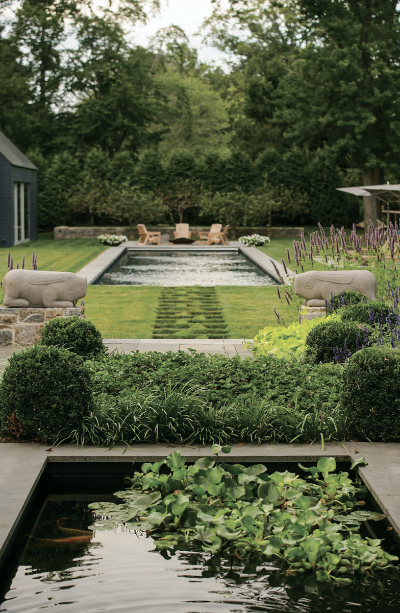 pond, Palladio Award Winner, Janice Parker Landscape Architects