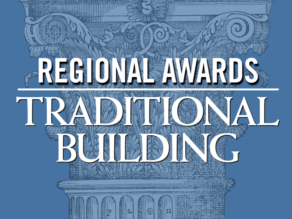 Regional Awards, Traditional Building