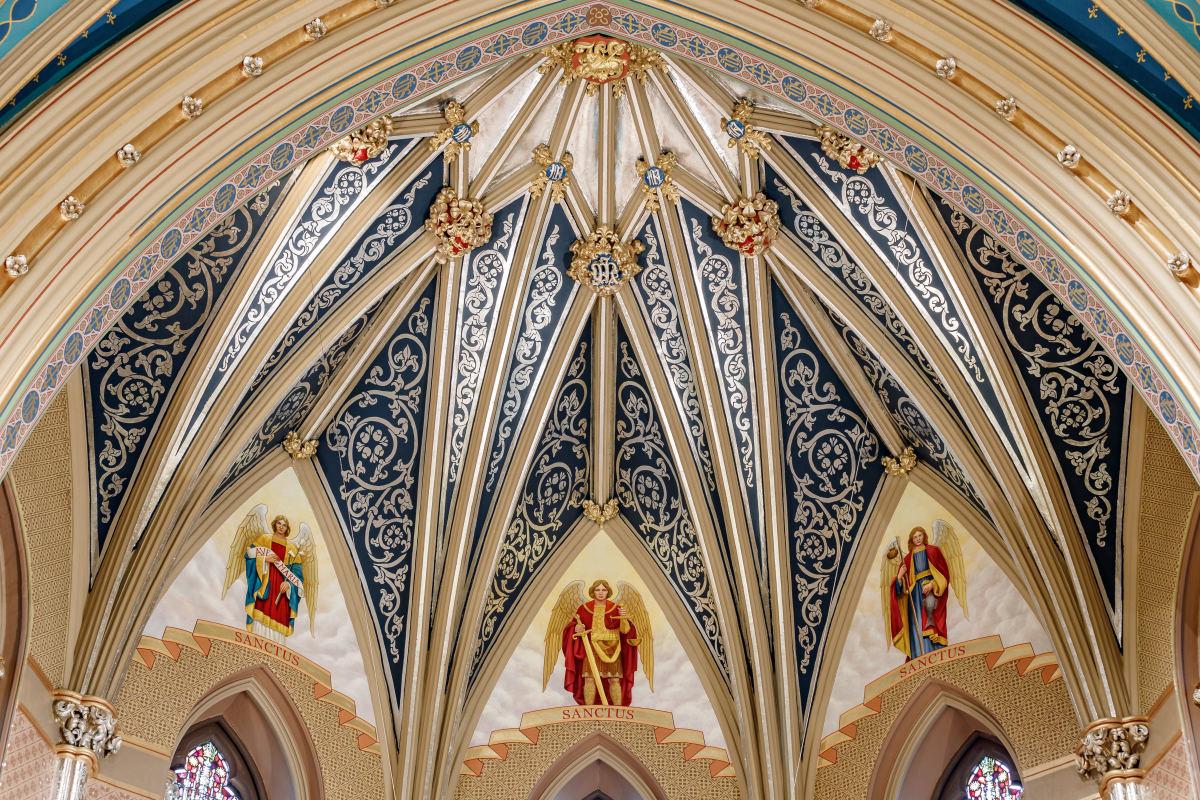 Saint Mary's Catholic Church- Decorative Finishes and Artwork