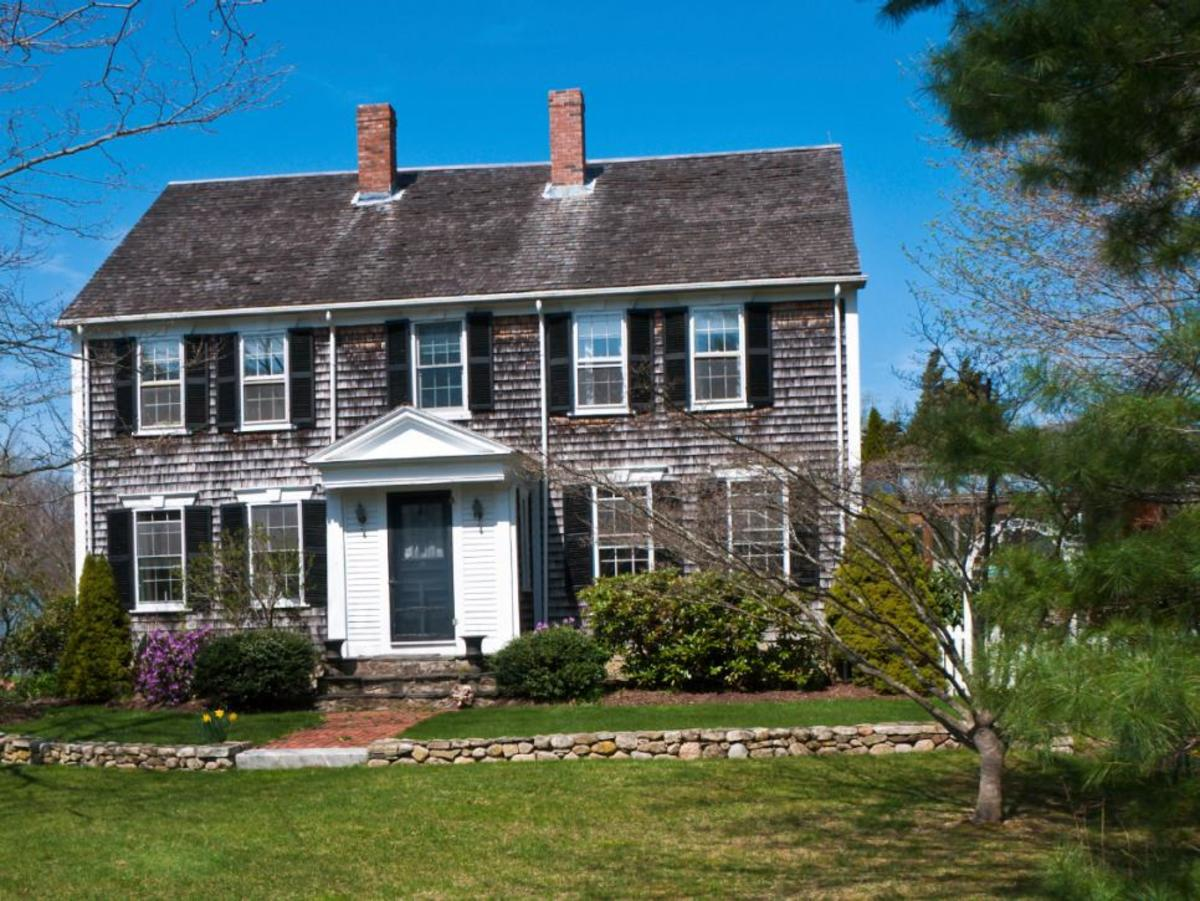 new cape cod house