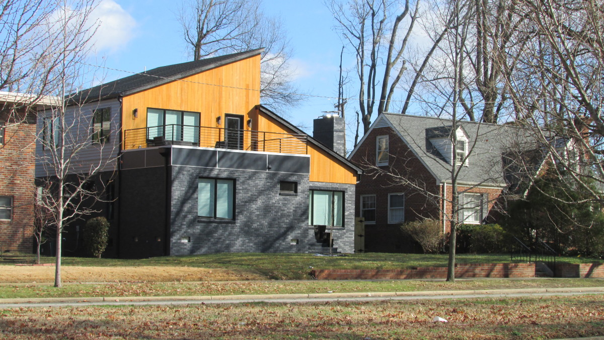 House on Monument Avenue, Richmond, Virginia