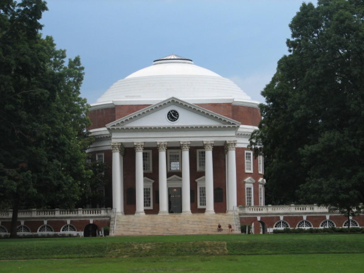 Thomas Jefferson, Library, University of Virginia, Charlottesville, Virginia