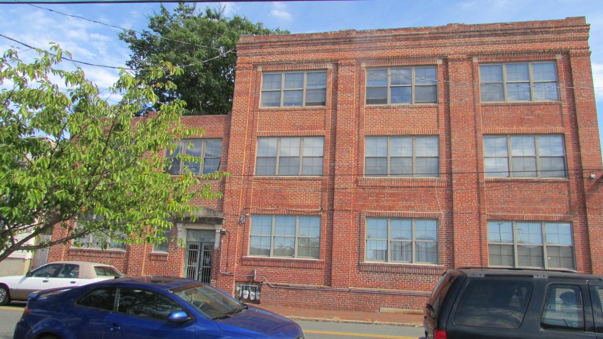 Former factory; now apartment, Richmond, Virginia